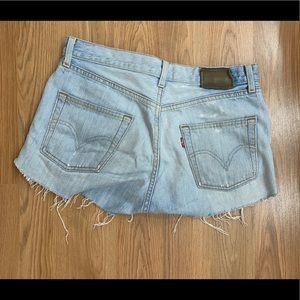 Levis Denim Shorts vintage